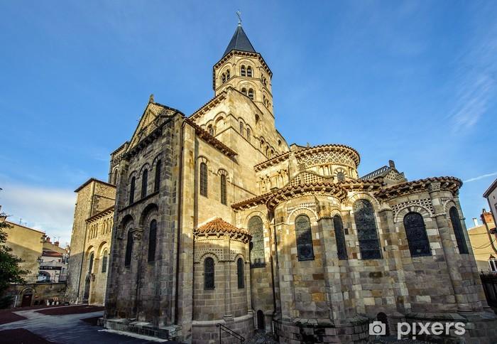 La basilique Notre-Dame du Port  Clermont-Ferrand